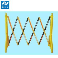 Plastic folding Temporary Retractable safety Barriers