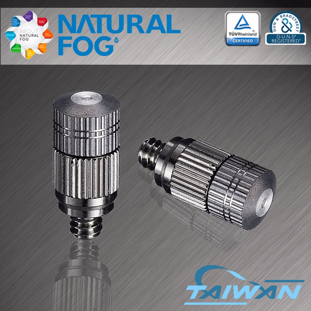 Natural Fog High Pressure Mosquito Control Nickel Plated Brass Mist <strong>Nozzle</strong>