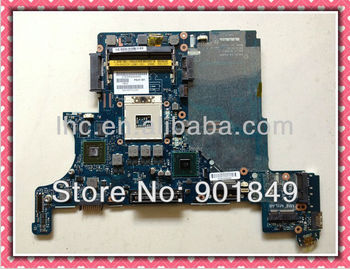 stock used non-integrated DDR3 laptop motherboard E6420 for DELL 100% fully test with 45days warranty