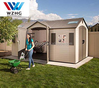 customized size steel garden shed