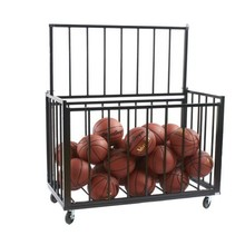 Movable Storage Rack For Basketball Cart And Bowling Ball Rack