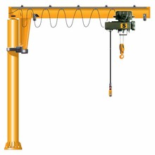 Hot sale 2 ton scorpio camera marine jib crane