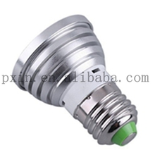rgb led pin spot 3w e27 cheap with 3-year warranty