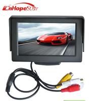 4.3 Inch TFT LCD Parking Rear View Monitor Car Monitor