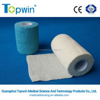 medical self-adhesive elastic crep bandage with CE ISO certification