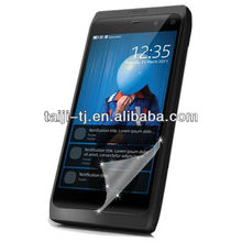 rall roll materials for screen saver , Anti fingerprint screen protector with wholesale package for Nokia N950