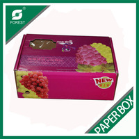 Fancy printing gift dry fruit box for grapes packaging