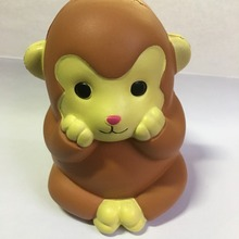The most popular factory custom intelligent jumbo monkey slow rising toys