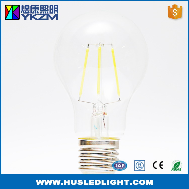Newly economic rohs compliant 4w a19 led filament bulb