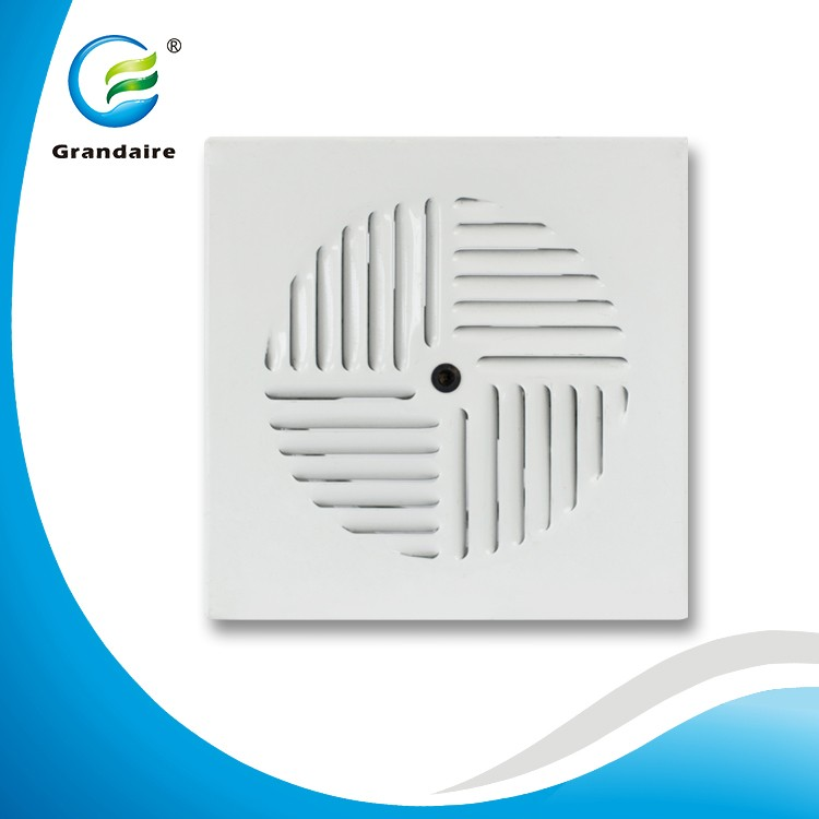 China Factory Aluminium Floor Grille Air Floor Swirl Diffuser with a Redial Damper for Under Floor air conditioning