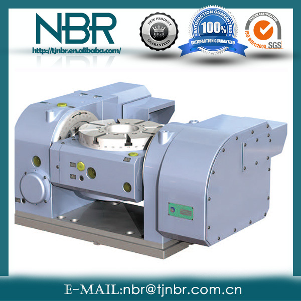 high quanlity CNC Tilting index rotary table NRTT-B250 from Taiwan