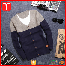 Korean new design wholesale cardigan sweater man