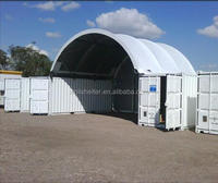 Creative Uses for Dome Shelters and Shipping Container Canopy