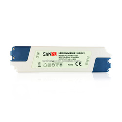 SANPU LED Driver 12v DC 30w Dimmable Plastic Constant Voltage Switching Power Supply 110v 220v AC Input
