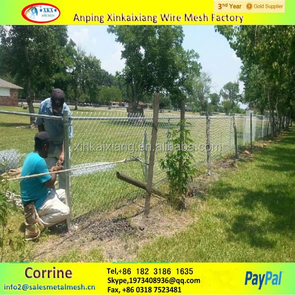 galvanized chain link fence,chain link fence,used chain link fence panels manufacturer