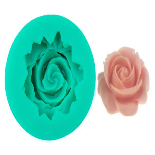 Rose desige soap silicone mold   Cooking Cake Decorating Mold  Silicone MoldsFor Cakes