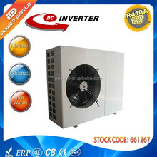 2016 new deisng high quality, high COP, low temperature monobloc EVI DC inverter heat pump water heater