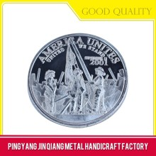 Promotional gift decorative play metal coin