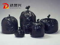 Customed heavy duty plastic black garbage bag, trash bag, rubbish bag