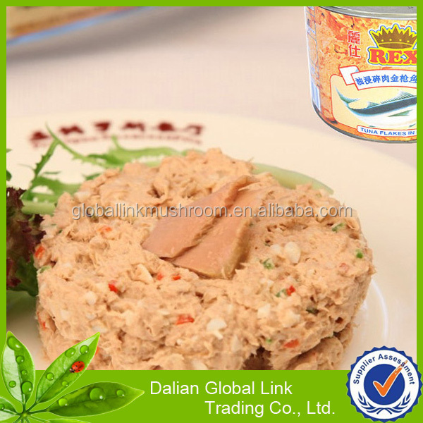 wholesale canned tuna in shred/pieces/chunk