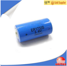 Li-SOCl2 Battery ER17335 3.6v Non Rechargeable Lithium Battery