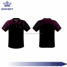 Shorts Sleeve Sublimation Polo T Shirt / golf polo shirt / breathable digital jersey