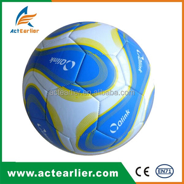 Factory supply 5# customized design promotional soccer ball