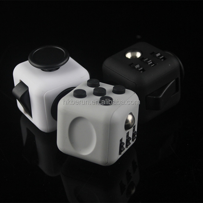 Hot sale fidget cube stress release desk toy cube Funny Magic Toys anti stress cube