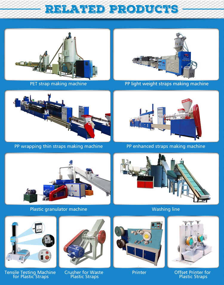 YZJ Hot Sale Trade Assurance Waste plastic recycling machine