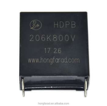 DC Link Metallized polypropylene film capacitor for PCB New DPB