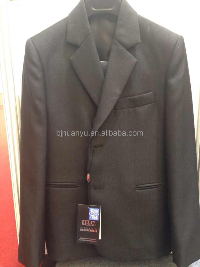 2 PC boy black suit