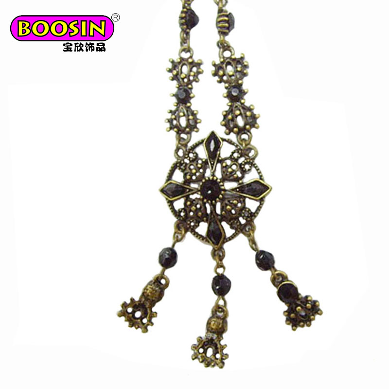 Fashionable EXW price classic elegant jewellery vintage antique necklace