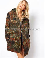 Fashion Woman Spring Waterproof Hunting Jacket