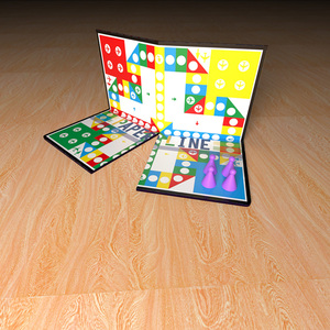 Wholesale Portable Printed Popular Board Games