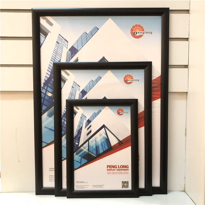 Poster clip snap frame museum artwork display sign A0