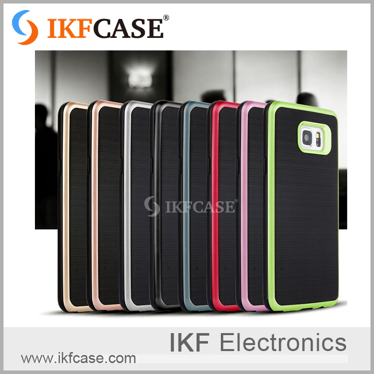 2016 unique pc and tpu mobile phone case for samsung galaxy s6