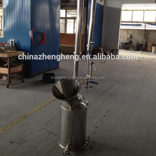 Customizing durable stainless steel distillation/alcohol distillation equipment/industrial distilled water equipment