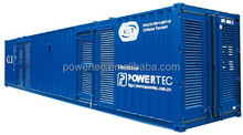Sound insulation 20ft container generator