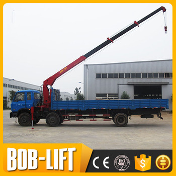 Telescopic Boom Mini Truck Mounted Crane