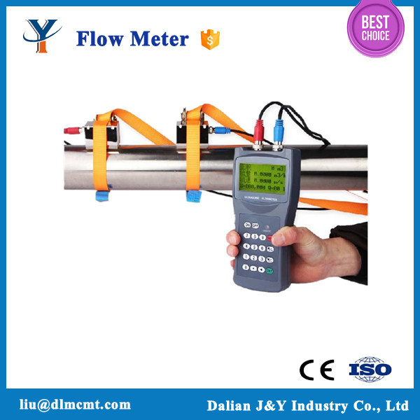 High quality battery powered Handheld ultrasonic flow meter