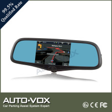 smart rearview GPS DVR mirror with 99.5% qualified rate