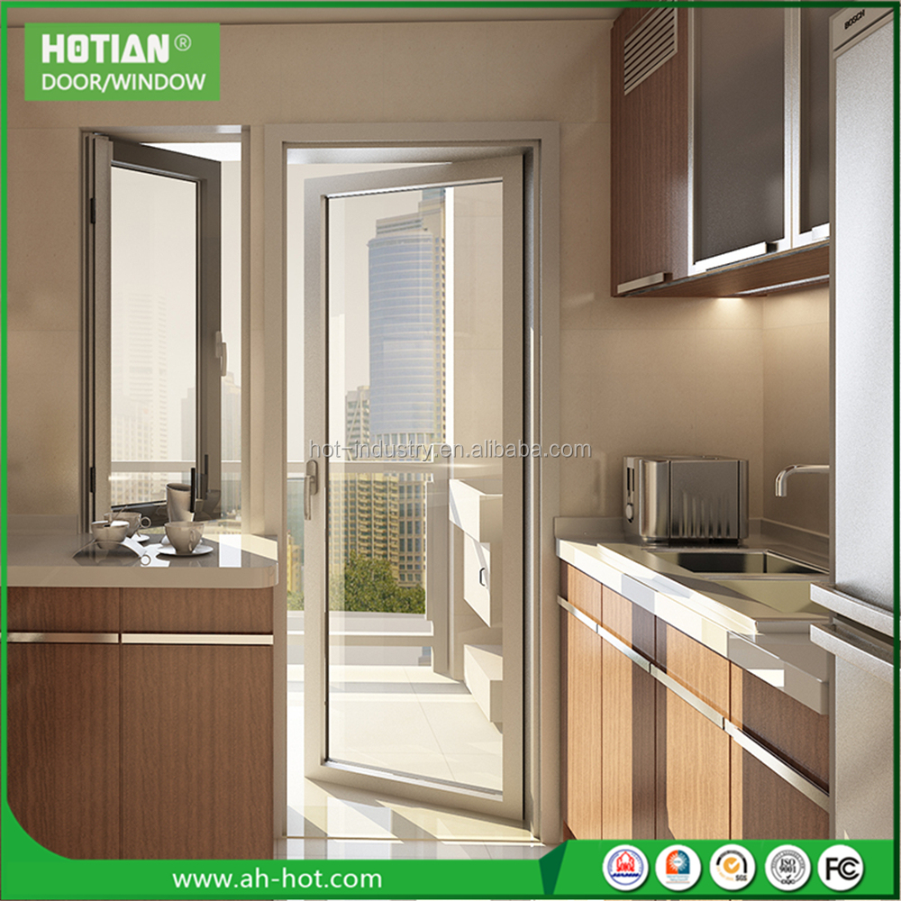 Entry Door with Opening Window Interior Window Aluminium Sliding Glass Kitchen Garden Window