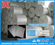 Roofing material polyester mat used for SBS / APP waterproof membrane with cheap price