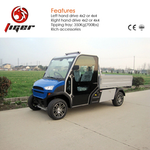 Factory wholesale four-wheel electric van family used car on sale