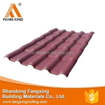 Trustworthy China supplier PVC roofing tile/Royal type/720/plastic roofing