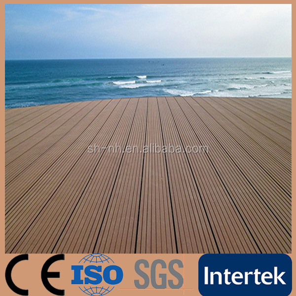 Fire-resistant Cheap Outdoor Hollow wpc Decking Flooring