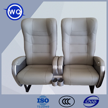 Luxury used leather bus seat for sale