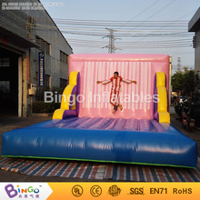 Funny castle bouncy inflatable suit wall for Adult sports game