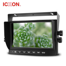 7 inch full definition rearview camera system with U bracket for bus or truck vehicle