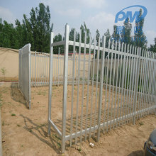Safety Protection Steel Angle Rails Tower Palisade Fences for Telecom